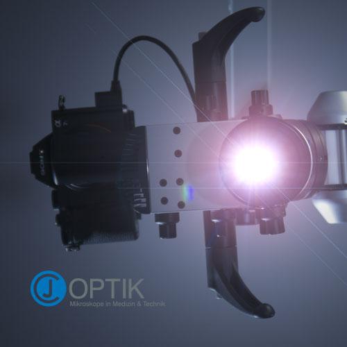Magnificación: microscopio Flexion CJ-Optik 3