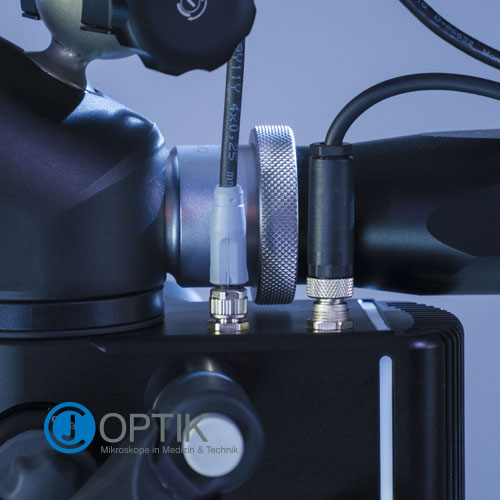 Magnificación: microscopio Flexion CJ-Optik 5