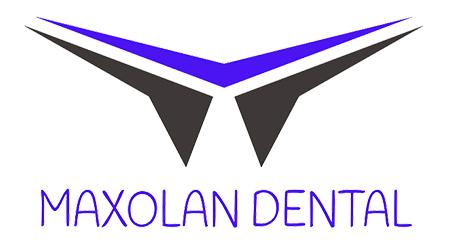Logo distribuidor Maxolan dental