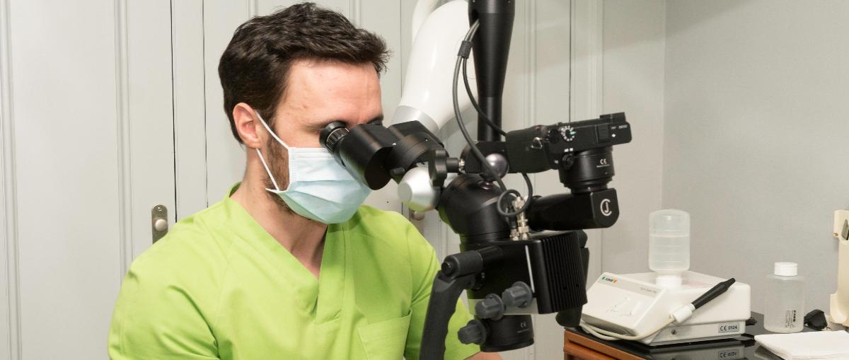 El uso del microscopio en odontología
