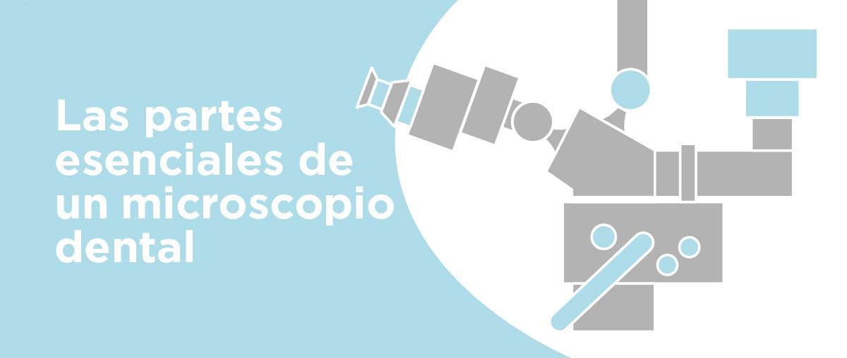 Partes esenciales de un microscopio