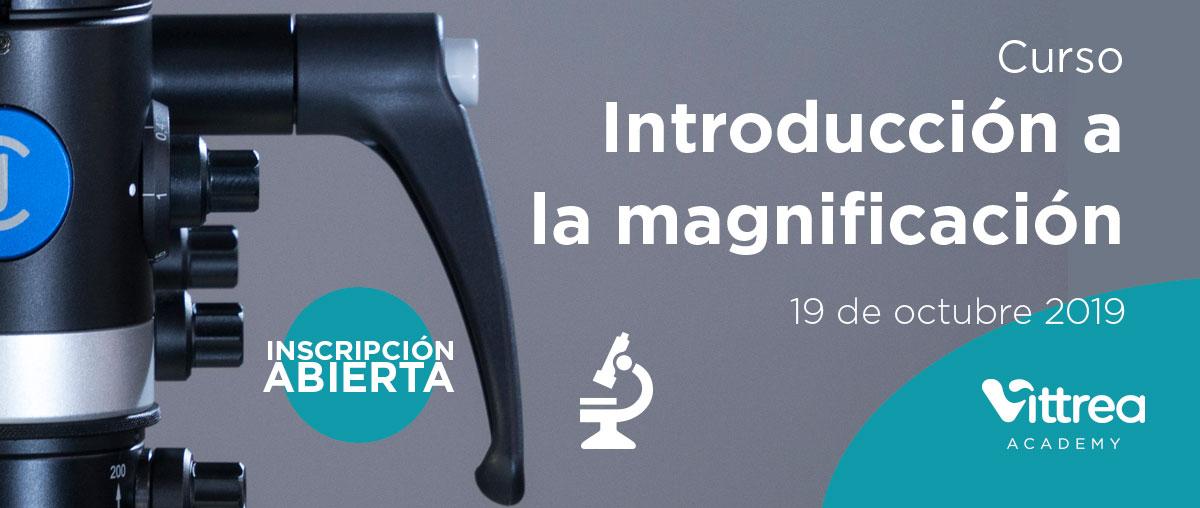 Curso introducción a la magnificación en Madrid