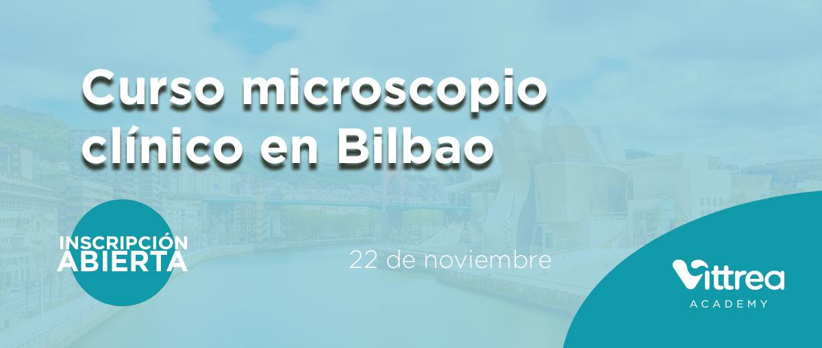 Curso microscopio clínico en Bilbao el 22 de noviembre 2019