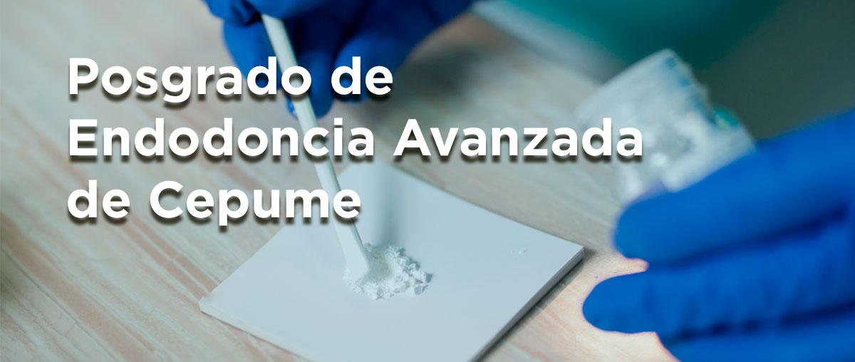 Víttrea colabora con el posgrado de Endodoncia Avanzada de Cepume